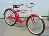 48Schwinn2 (centerprairie) Tags: red 1948 bicycle illinois 24 schwinn balloontire