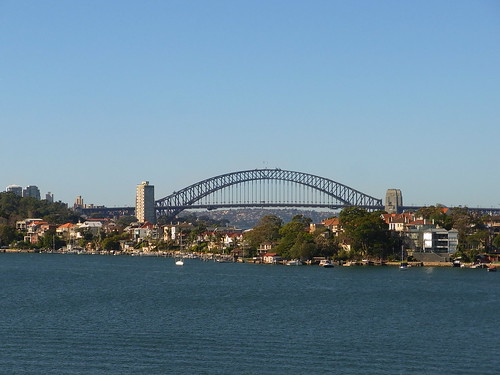 Harbor Bridge from Cockatoo Island