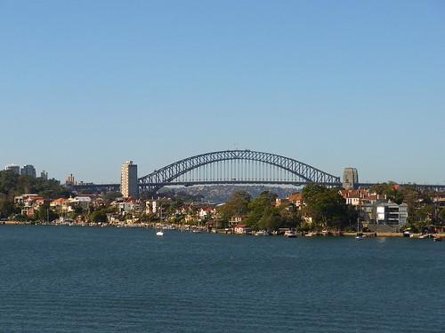 Harbor Bridge from Cockatoo Island