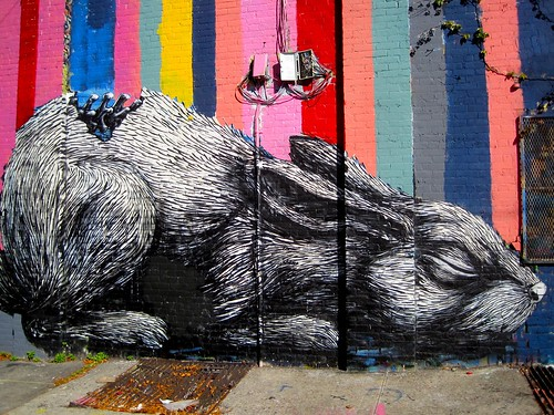 Canon Ball Presents: Prints Gone Wild Bunny Graffiti