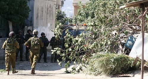 Israelische Soldaten in Askar