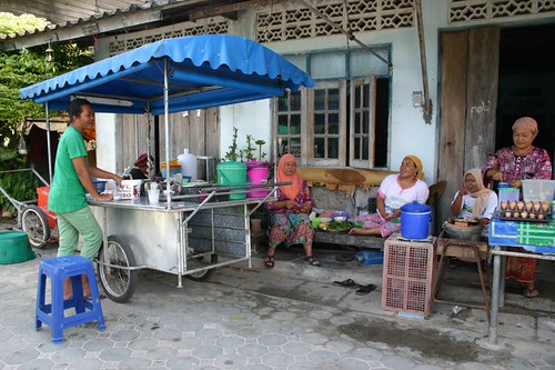 My food stall in the muslim village south of Lamai...