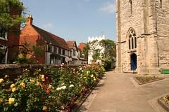 Alcester, Warwickshire, St Nicholas. (Tudor Barlow) Tags: summer england churches stnicholas warwickshire parishchurch alcester tamron1750