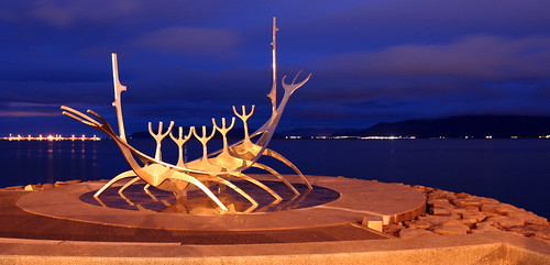 Iceland: Sólfar (Sun Voyager) by vicmontol, on Flickr