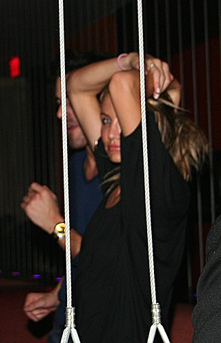 Cameron Diaz en fiesta