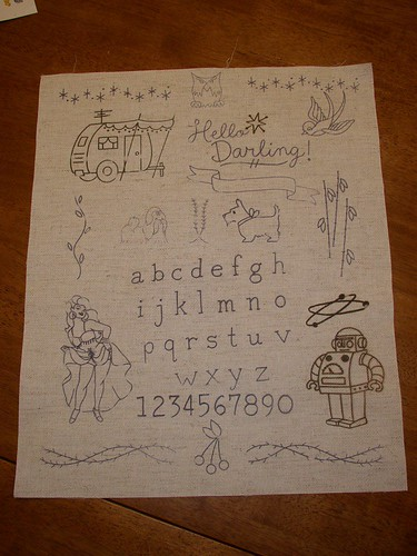 A Sublime Stitching Sampler - my next big WIP