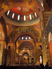 Inside the Cathedral Basilica of St. Louis