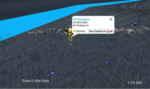 Upnextのマンハッタン地図