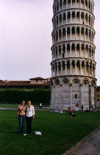 In Front of the Leaning Tower of Pisa