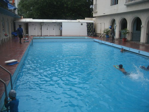 Pool at Wellington Catholic Club in Mumbai