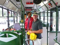 la bici sul bus