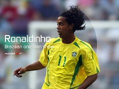 wallpaper Ronaldinho