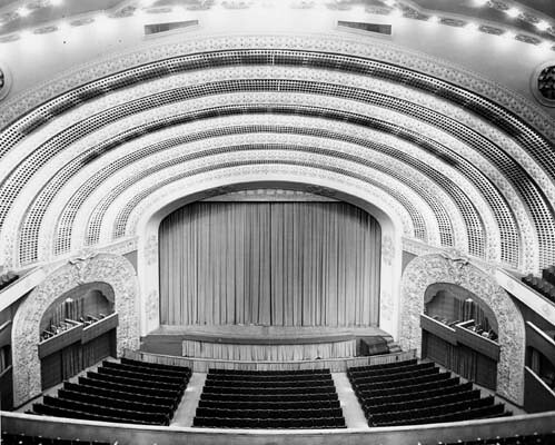 Philharmonic Auditorium, Interior