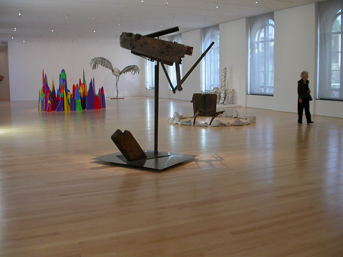 Exhibition Gallery, sculpture