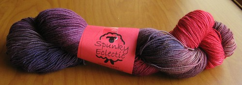 Spunky Electric Skinny Socks