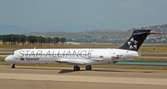 Spanair Star Alliance - (Madrid Barajas)