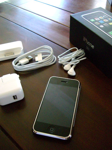 iPhone out of box