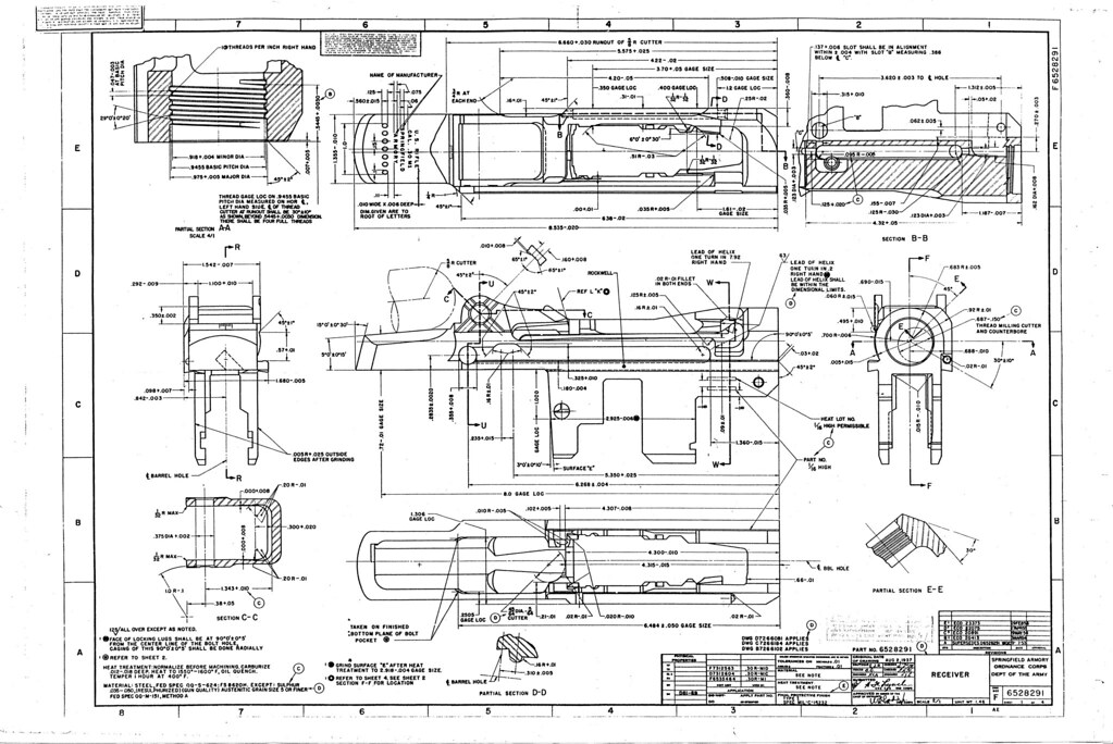 Ar 15 Diagrams Blueprints Wiring Diagram For Light Switch