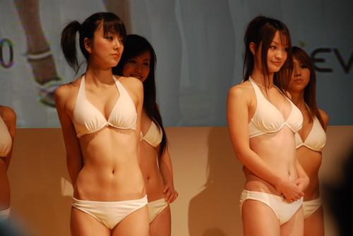 Girls in bikinis