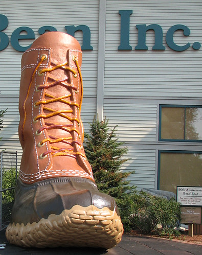 90th Anniversary Bean Boot.