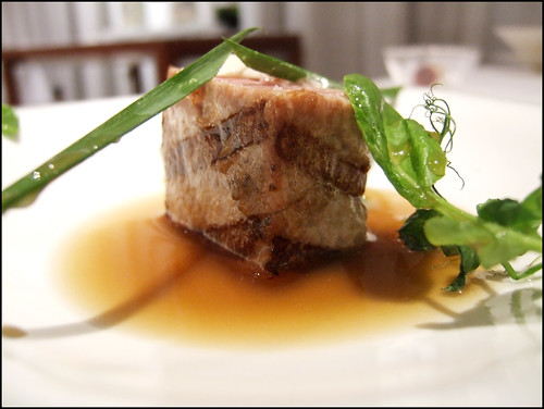 El Poblet (Denia, Spain) - Tuna Belly Flaps with chicken and tuna sauce 2007