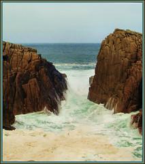 Troubled Waters (Liamfm .) Tags: sea storm rocks cliffs soe naturesfinest blueribbonwinner eow shieldofexcellence ultimateshot 1on1maritimephotooftheweek 1on1maritimephotooftheweekoctober2007