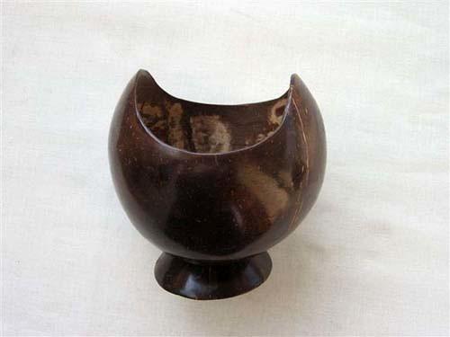 Coconut shell tissue box, antique tissue box,coconut handicraft