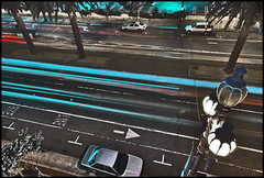 3:365 (O Caritas) Tags: sanfrancisco california motion night traffic streetlamps streetlights marketstreet streaks thecastro nikond200 365days 3365 sigma1020mm4556ex nightsf 2010bypatricktpowerallrightsreserved 365streetlights dsc045152