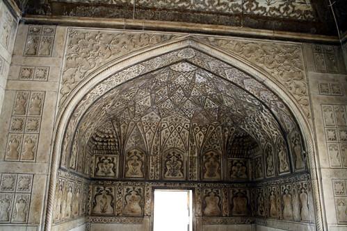 アグラ城の内壁
