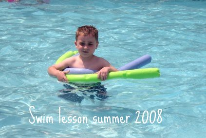 Looking back at swim lessons