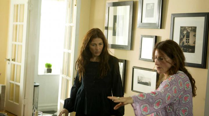 Catherine Keener and Nicole Holofcener in Please Give