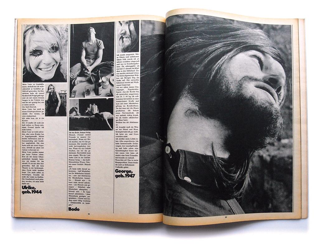 E Twen Photo Rock3 L Collectible Tags West Art Vintage Magazine Germany Layout Spread Design