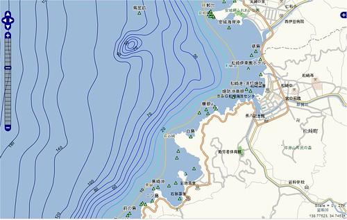 釣りポイント(静岡県、伊豆半島、松崎)