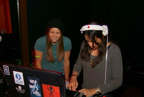 DJ Michelle Rodriguez at Beso Cantina