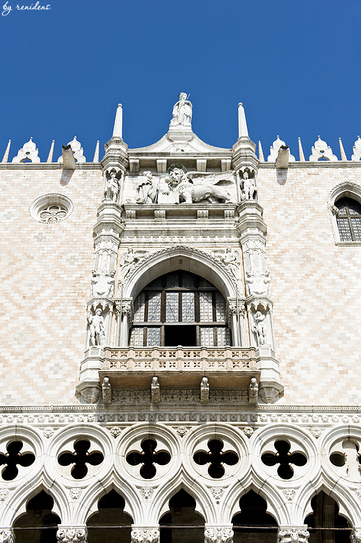 The Doge's Palace (Palazzo Ducale) - detail