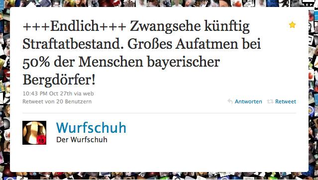 wurfschuh