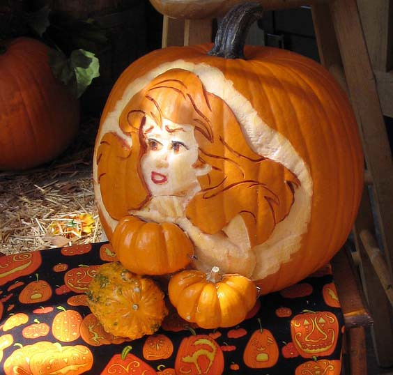40 Inspiration - Pumpkin Ariel