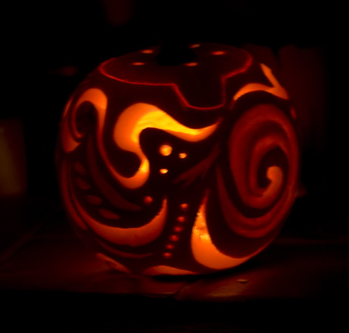 A Wealie Pumpkin - Copyright R.Weal 2010