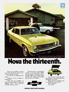 1974 Chevrolet Nova Hatchback Coupe & '62 Chev...