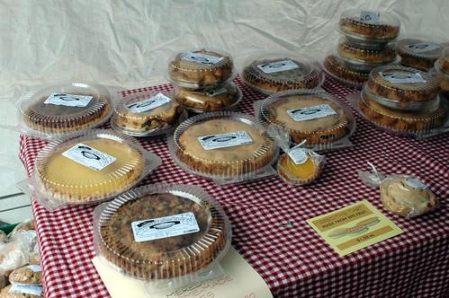 Pies, Meredith's Bakery, Cortelyou Greenmarket
