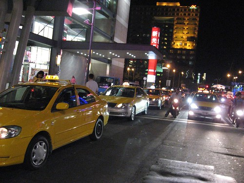 Yellow Cabs.. available in plenty..