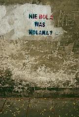 nie bola was kolana? (marcin wojcik) Tags: street krakow mur kazimierz krakoff