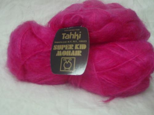 Pink Mohair