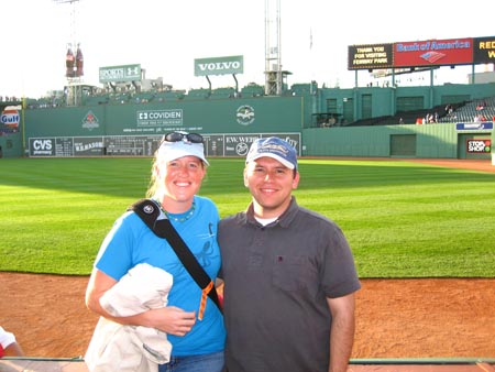At Fenway Park!