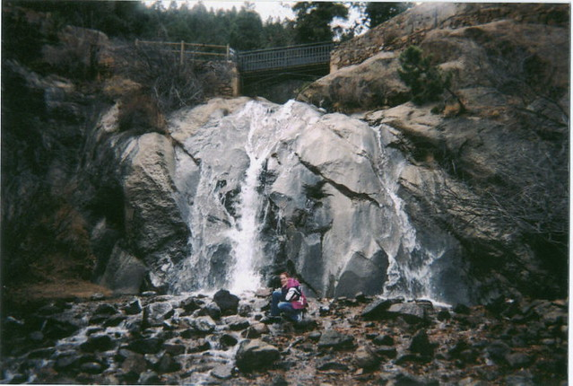 Me at Helen Hunt Falls-November 1, 2004 by ~*Valerie*~