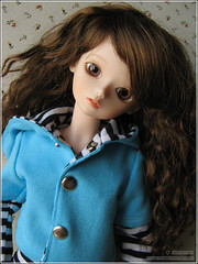 BF May (.o  ) Tags: blue cute doll blossom may wig tiny bjd dollfie glasseye msd bluefairy bamboline yokomay