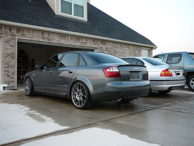 2004 a4 1.8t, quattro, 6mt, clean, classy mods