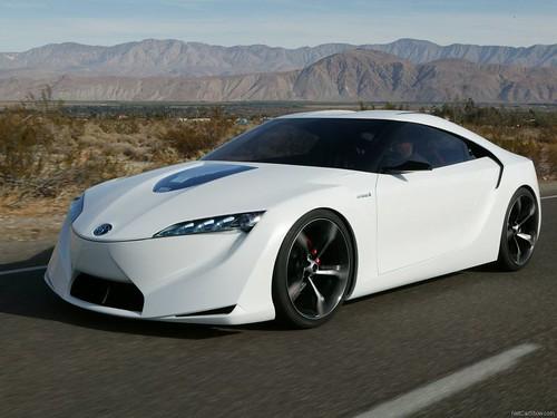 Superbe Toyota FT HS Concept