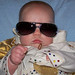 Elvis Look a-like baby