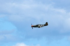 Flying along (quintinsmith_ip) Tags: merlin bud mustang oldcrow p51d scandinavianhistoricflight 8thaf n167f colclarenceeanderson